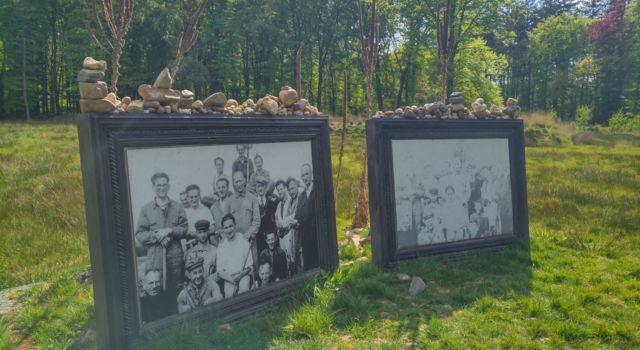 Monument vervaagde herinneringen in voormalig Rijkswerkkamp Twilhaar